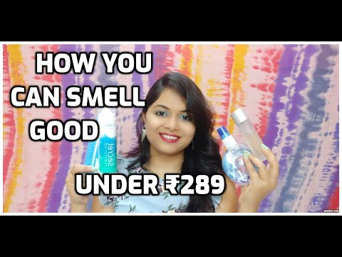 TOP 6 Best Perfumes/Deos/Cologne/Mist/body Spray Under ₹289 | #BudgetBuys | Affordable/Long-Lasting