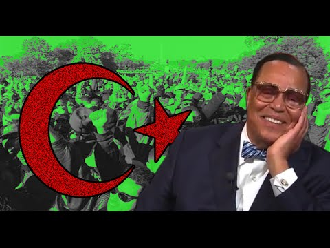 RickWells.US Louis Farrakhan's Evil Insanity, Hatred Anti American Anti-White Muslim Separatist