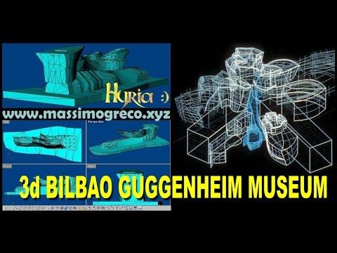 3d Bilbao Guggenheim Museum