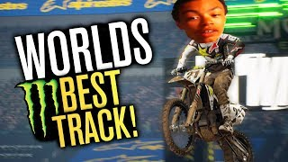 Worlds BEST SuperCross Track?!... Probably not
