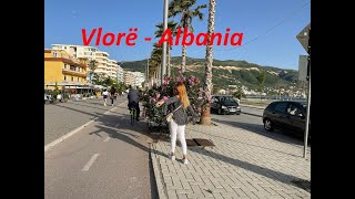 Beautiful Vlore - Walking on promenade
