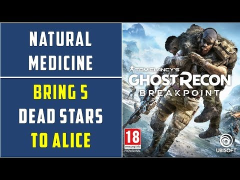 Dead Star Location | Natural Medicine Side Mission | Ghost Recon Breakpoint