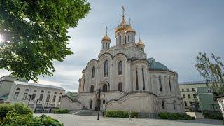 Всенощное бдение накануне праздника в честь Владимирской иконы Божией Матери