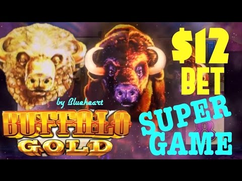 Buffalo Gold Slot Machine Max Bet Super Game And Jackpot