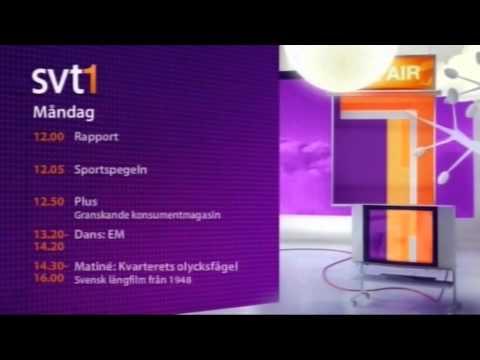 SVT1 siger godnat 11. april 2010