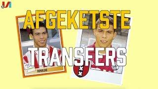 Afgeketste Transfers: Ronaldo bijna Ajacied en Zidane net niet naar Blackburn Rovers!
