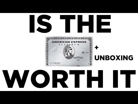 Unboxing the Platinum AMEX Credit Card | Are the Benefits Worth it in the UK?