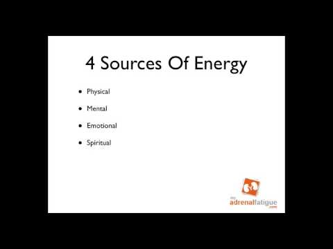 Increase your Energy - The 1st Law Of Personal Energy