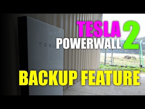 My Tesla Powerwall 2: Demo of Backup Feature