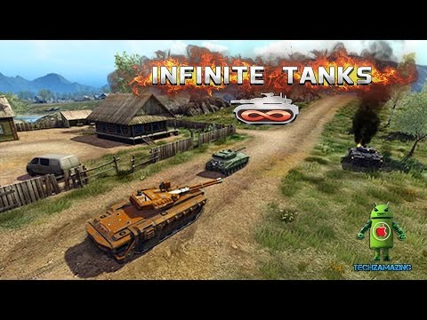 Infinite Tanks iOS Gameplay Trailer HD