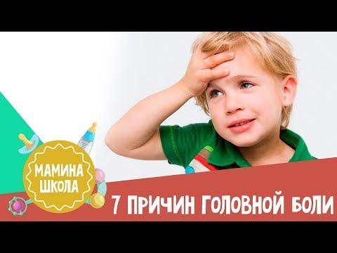 У ребенка резко начинает болеть голова