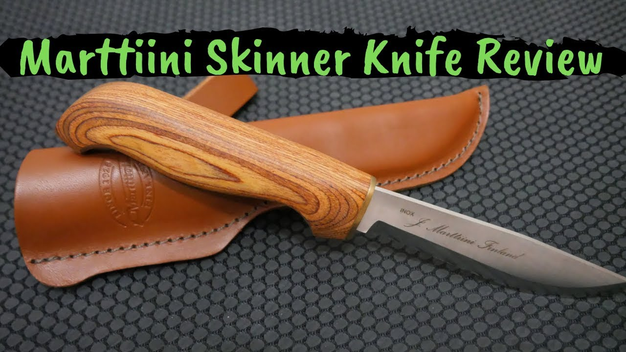 Marttiini Knives Of Finland Skinner Review Great Budget Hunting Knife