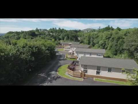 Conwy Lodge Park Aerial Video v3