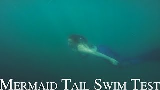 Magictail Mermaid Tail Swim Test - Sabrina Nielsen Photography