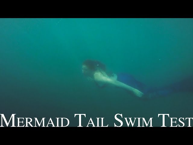 Magictail Mermaid Tail Swim Test - Sabrina Nielsen Photography