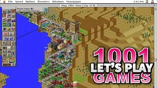 SimCity 2000 (Mac) - Let's Play 1001 Games - Episode 299