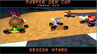 crash team racing ctr purple gem cup