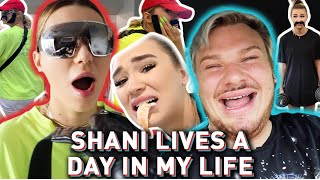 Shani Grimmond Lives a Day in MY life *Hilarious*