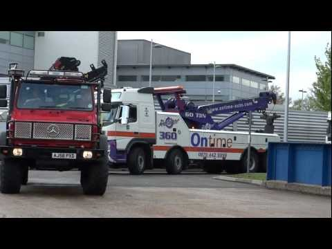 Brooklands Emergency Services Show 2012 - Emergency Vehicle Calvacade