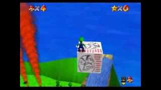 Super Luigi 64: Bowser's Serious Revenge (SM64 Hack): enter in the castle (read description)