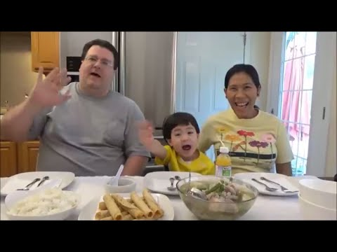 Cooking Filipino Food | Eating Filipino Food | Mukbang Pork Nilaga