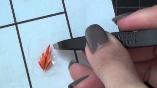 How to transfer freehand designs on to nails (Making your own nail stickers) - Natalie's Creations