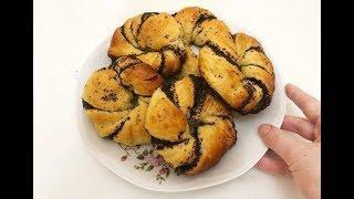 Бомбезные булочки с маком! Простой и быстрый рецепт мягких и ароматных булочек!
