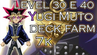Yugi Muto - Deck para Farm level 30 e 40! ATAQUE UNIDO - Yu-Gi-Oh! Duel Links Mobile