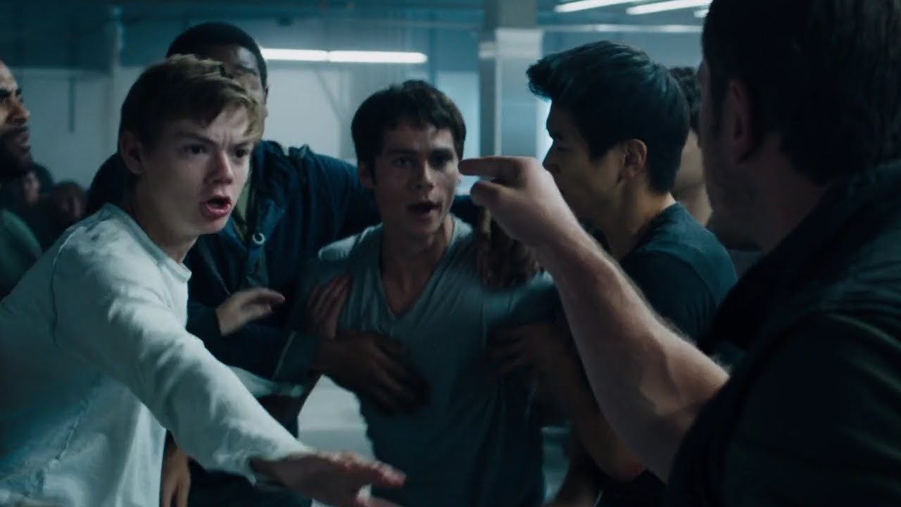 Download Thomas starts a fight to steal the key card [The Scorch Trials]