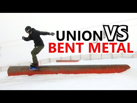 Union VS Bent Metal Snowboard Binding Comparison