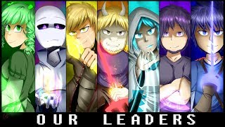 Our Leaders | Glitchtale Prequel Official Poster #1