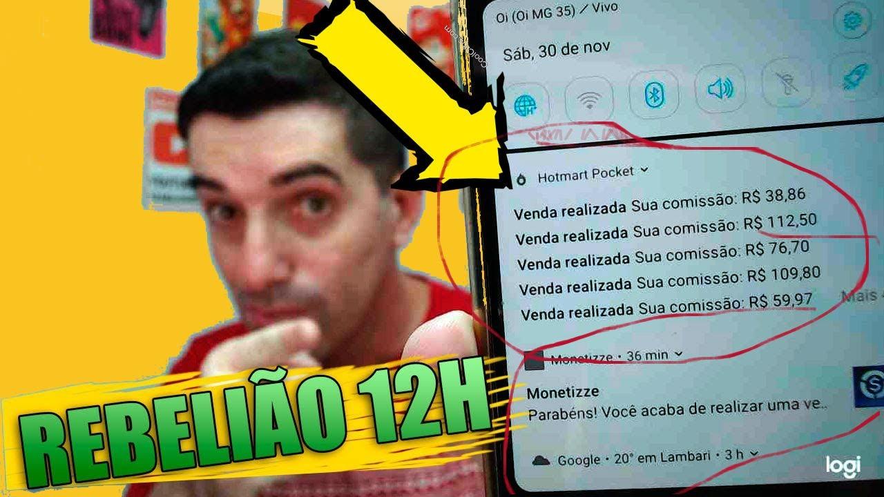 Rebelião 12h Fernando Nogueira Funciona? 30 Dias de Vendas em 12 Horas? Por dentro ⚡ como funciona?