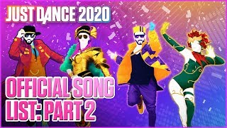 Just Dance 2020: Official Song List - Part 2 | Ubisoft [US]