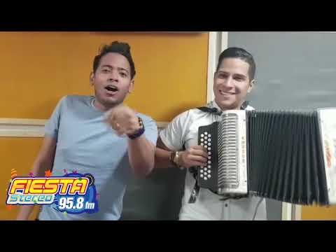 Orlando Liñan Y Mirito Castro Saludo A Fiesta Stereo 98 5 La Plata Huila