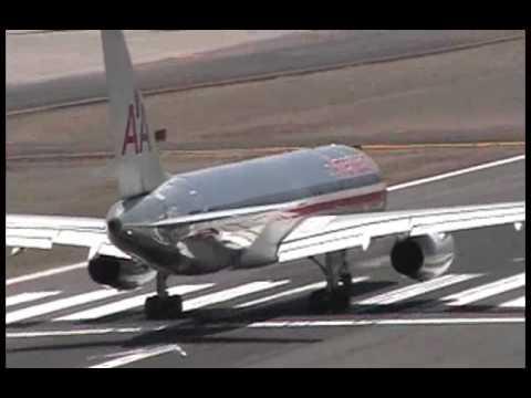 B757 take off fom Tegucigalpa.