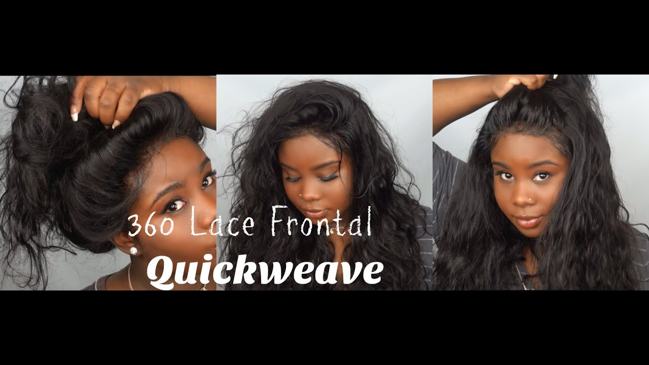 360 Lace Frontal Pronto Quickweave Youtube
