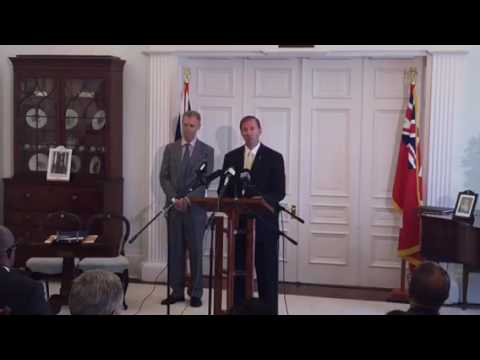 Premier Announces Cabinet Shuffle, May 13 2016