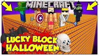 LA SFIDA DEI LUCKY BLOCK GIGANTI DI HALLOWEEN! - Minecraft ITA
