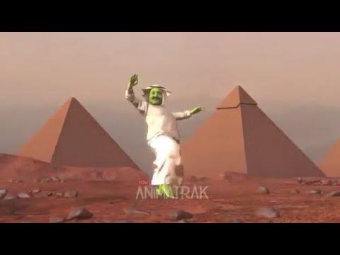 Arap YEŞİL UZAYLI akımı (tema etmaje)