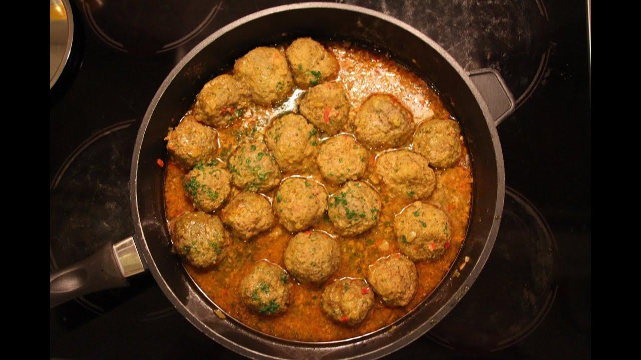marokkanische fleischbällchen - eine exotische abwechslung - youtube - Marokkanische Küche Rezepte