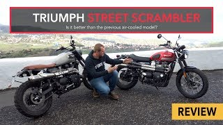 Is the new Triumph Street Scrambler better than the previous model?