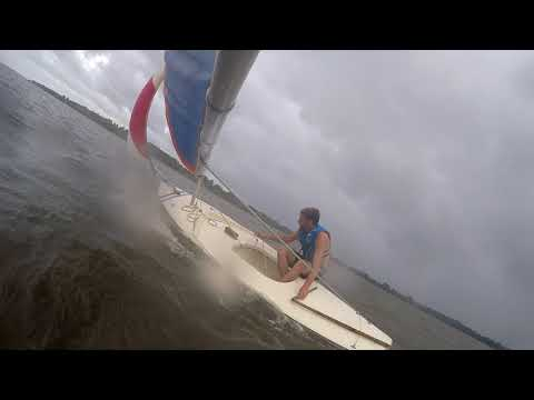 Sunfish W/jib Light-medium Wind
