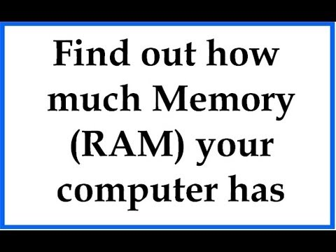 how to buy ram for your computer