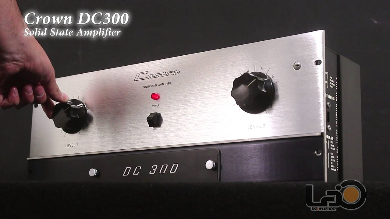 Crown Dc300 Poweramplifier 2