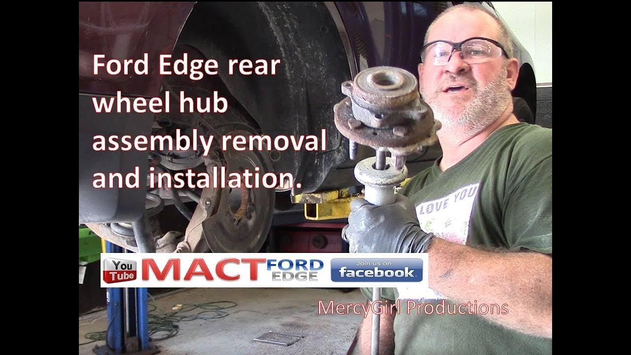 Ford Edge Rear Hub Bearing Assembly Replacement Btz  B