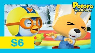 Pororo Season 6 | #14 Eddy's Brave Venture | You can do it, Eddy!