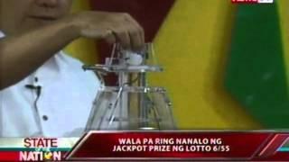 SONA: Wala pa ring nanalo ng jackpot prize ng Lotto 6/55