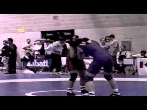 2000 Junior National Championships: 62 kg Tara Hedican vs. Unknown