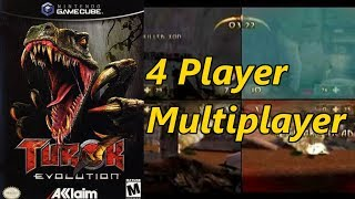 Turok: Evolution Multiplayer Gameplay 4 Players Every Map/Character/& Game Mode