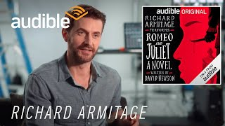 Behind the Scenes with Richard Armitage, narrator of